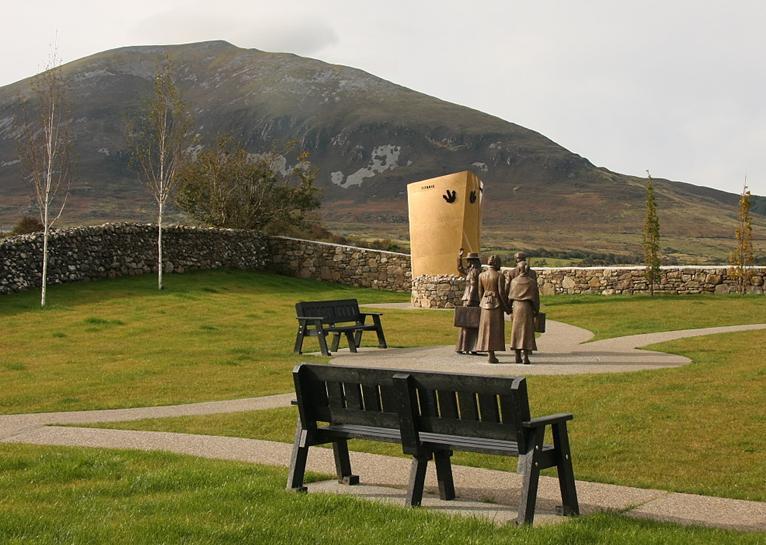 The Addergoole Titanic Memorial Park in Lahardane, County Mayo