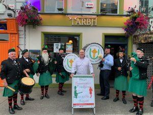 Mayo Manchester Tradfest 2019: Closing night party at Tarbh 47 with Alan Keegan, Gerry Walsh, Fianna Phadraig Pipe Band