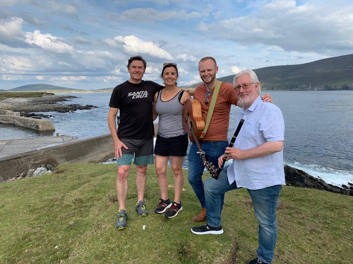 Achill Head Hotel, David Ponton, Belinda Mundy, Joe Keegan, John Gibson