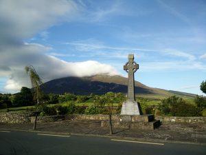 Memorial to Fr. Andrew Conroy in Lahardane