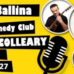 Ballina Comedy Club – John Colleary; 27th September 2019