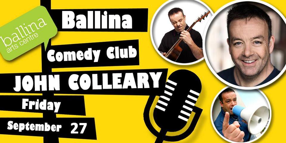 Ballina Comedy Club - John Colleary
