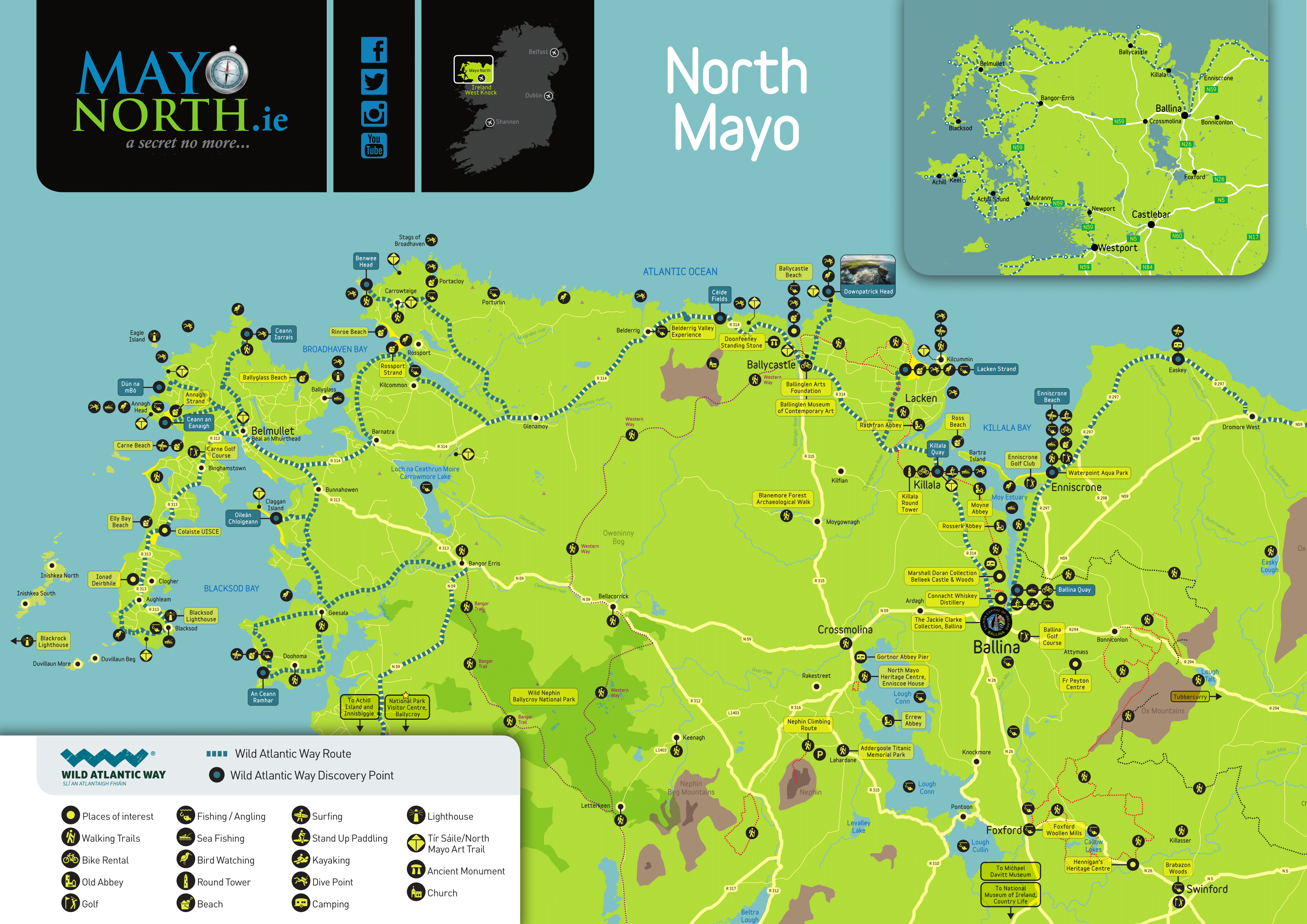 North Mayo Map 2019