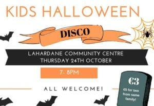 Kids Halloween Disco Lahardane