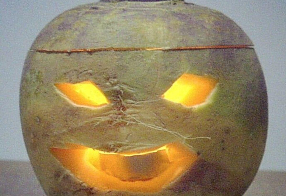 Traditional Irish Jack o'lantern
