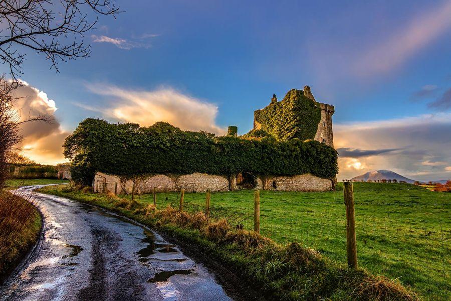 Deel Castle by Mike Kinsella