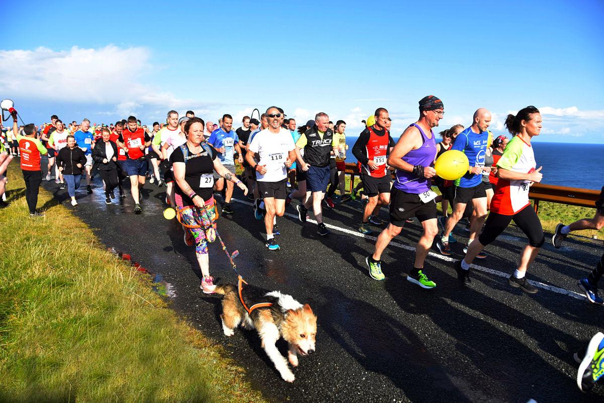 Ceide Coast Half Marathon & 10k Run. Photo: John O'Grady.