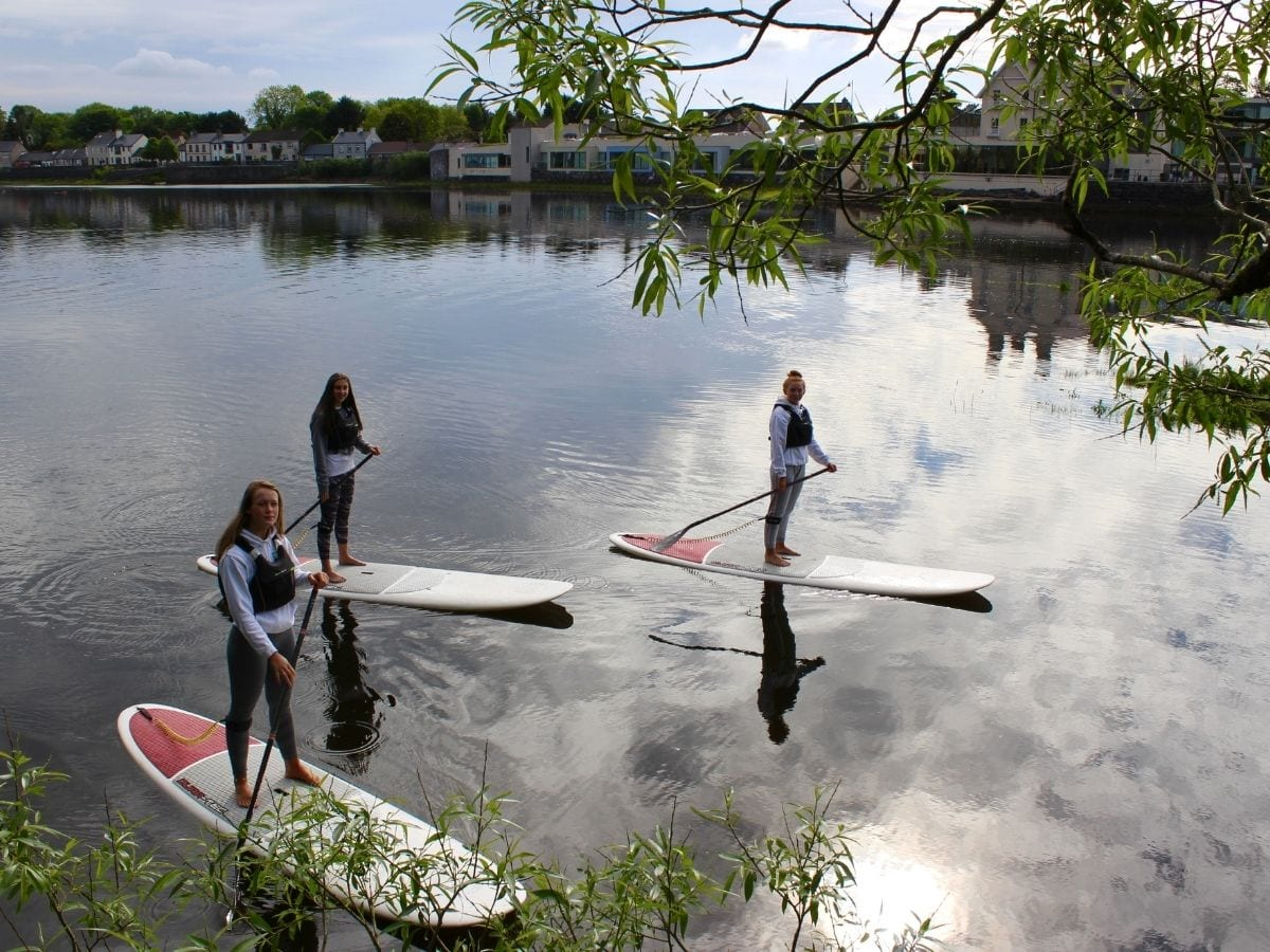 Harbour sup stand up paddling ballina co. Mayo Ireland River Moy