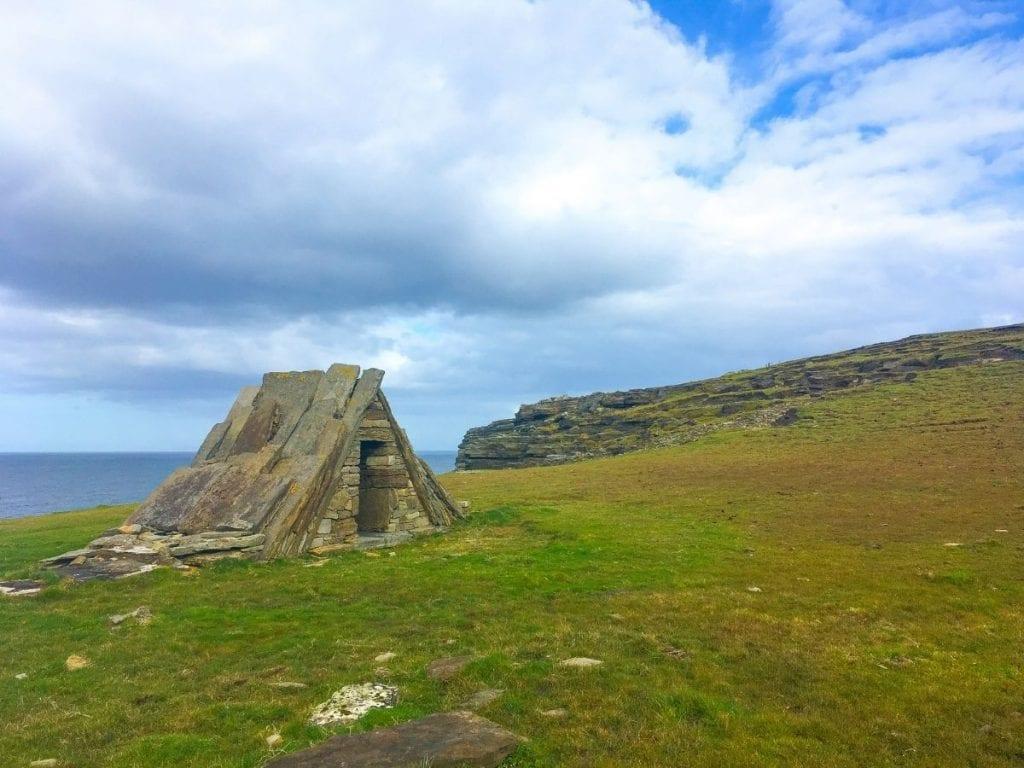 Tearmann na Gaoithe on the Tír Sáile Sculpture Trail in Kilcummin, County Mayo, Ireland