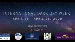 International Dark Sky Week 2020