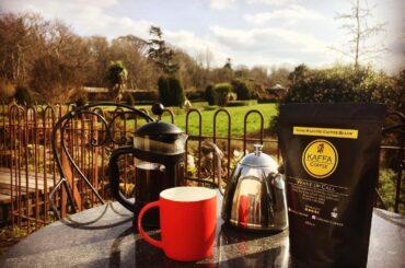 Kaffa Café at the North Mayo Heritage Centre, Enniscoe House, Co. Mayo, Ireland
