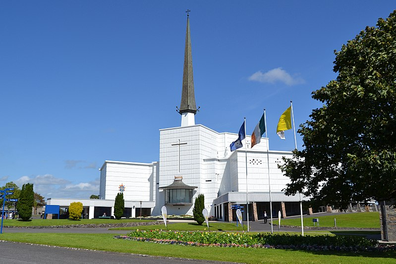 The Sanctuary of Our Lady of Knock or Knock Shrine