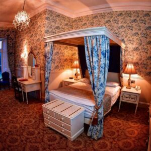 Belleek Castle Ballina Co Mayo Ireland Offers four poster bed