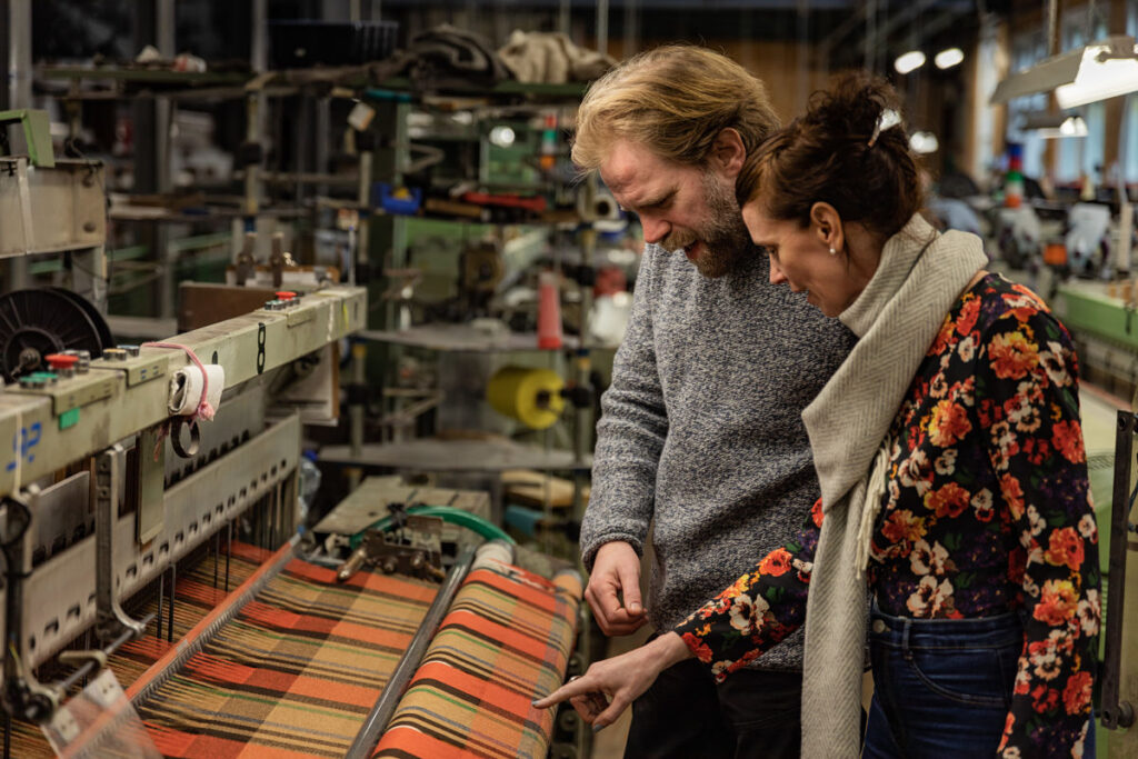 Weave an unforgettable experience at Foxford Woollen Mills, Co. Mayo, Ireland