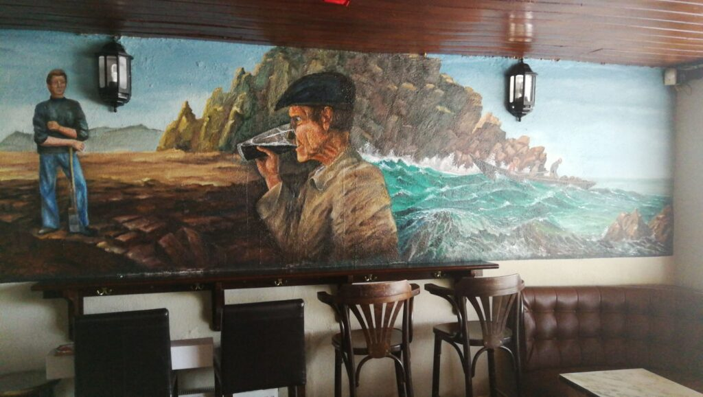 Interior of The Seaview Lounge, Ballycastle, County Mayo, Ireland