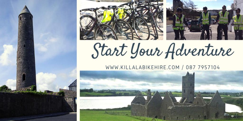 Start your adventure with Killala Bike Hire