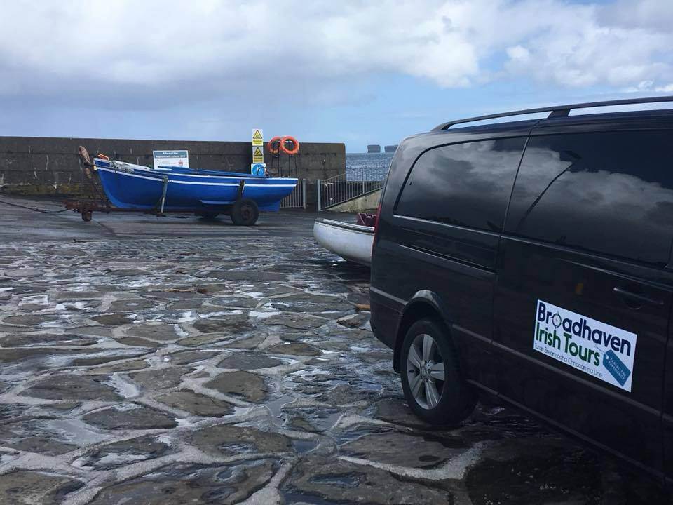 Broadhaven Irish Tours at Ballycastle Pier, Co. Mayo