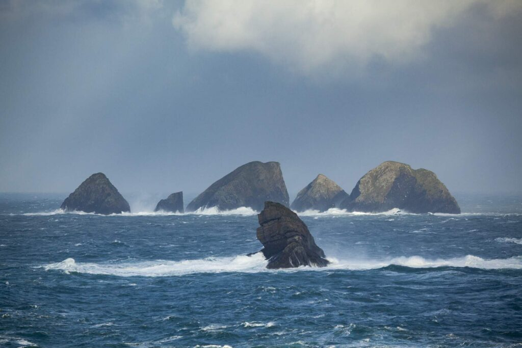 The Stags of Broadhaven, County Mayo, Ireland