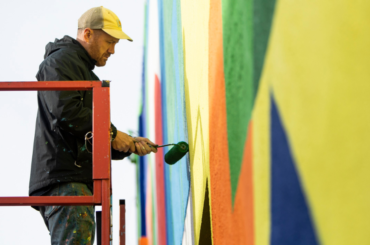 Maser at work - Photo by Sean Flynn