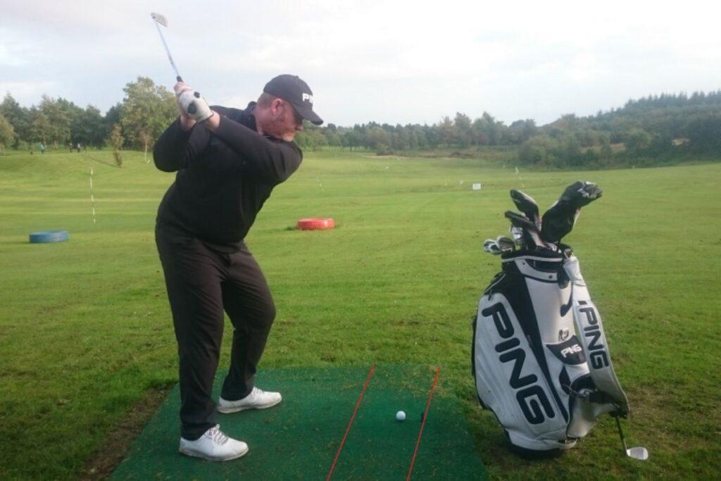 Eddie Tracey Golf at Ballina golf Club, Co. Mayo
