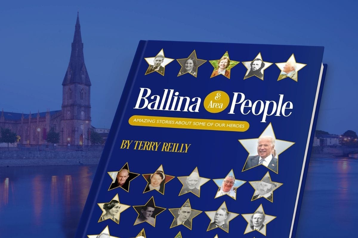 Ballina and Area People book by Terry Reilly