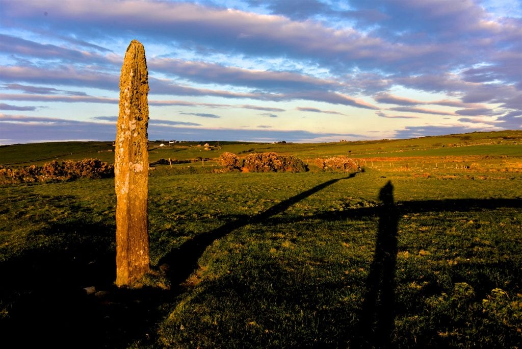Foghill Standing Stone by Paul Doran