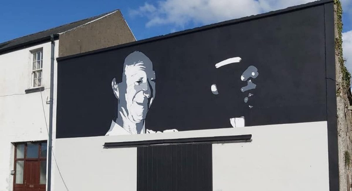 Jack Charlton mural Ballina