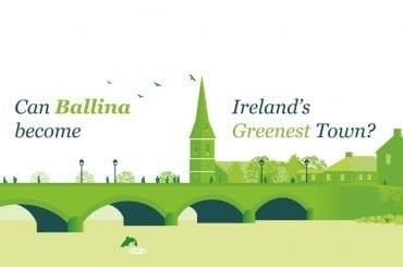 Ballina Co. Mayo Ireland's Greenest Town
