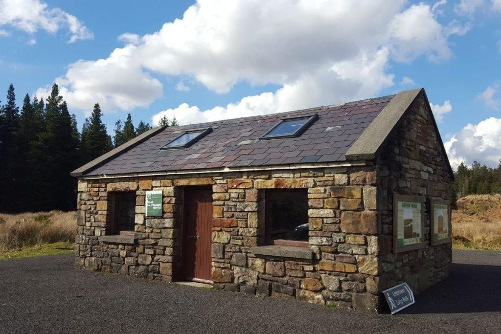 Brogan Carroll Bothy, Letterkeen, in Wild Nephin Ballycroy National Park, Co. Mayo Ireland