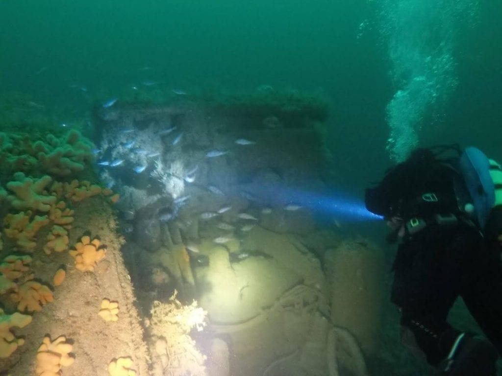 Diving with Gráinne Uaile Sub Aqua Club