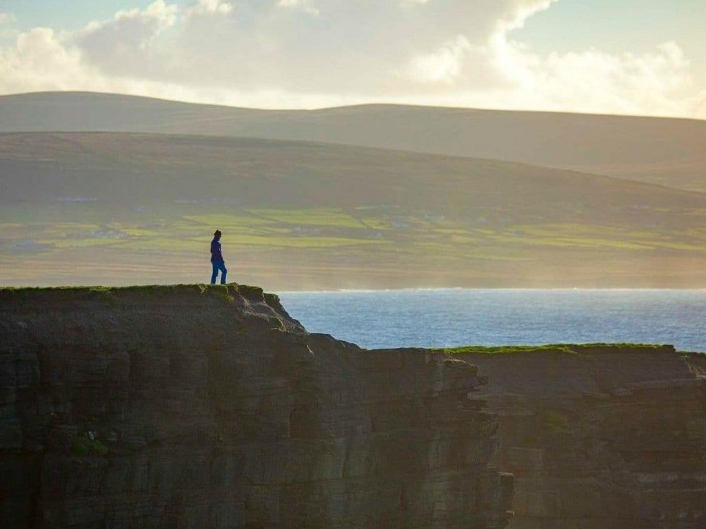 Downpatrick Head, Ballycastle, Co. Mayo, Ireland Wild Atlantic Way Signature Discovery Point