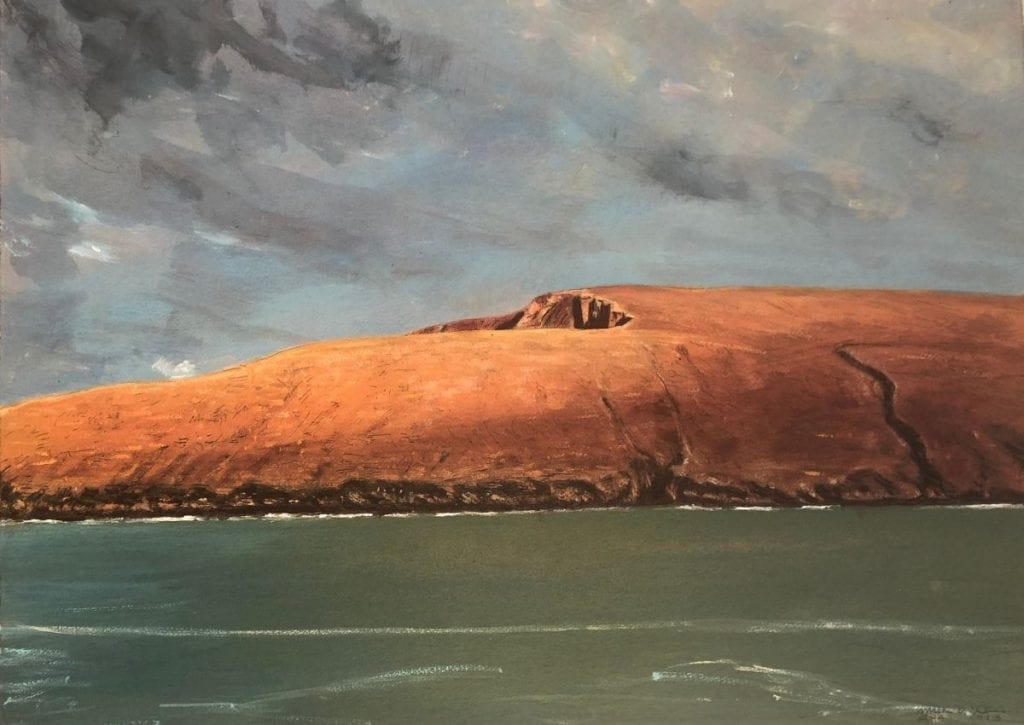 Mick O'Dea, Evening Winter Portacloy at Ballinglen Museum of Art, Ballycastle, Co. Mayo