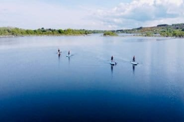 stand-up paddling Lough Conn Ballina Co. Mayo Simply Sup