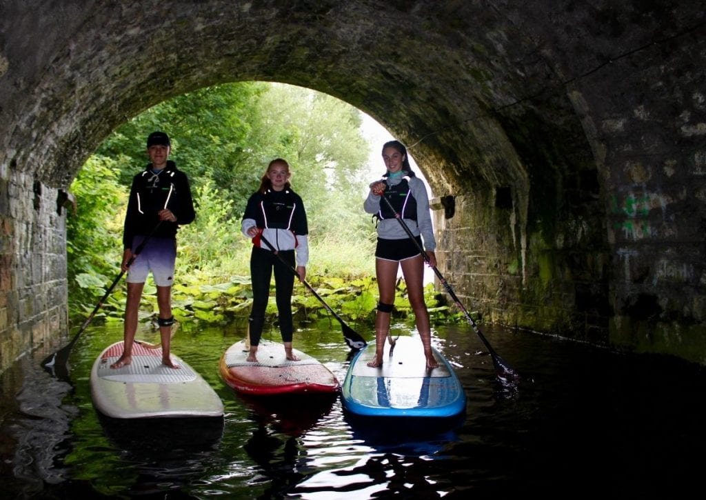 Stand-up paddleboarding in North Mayo
