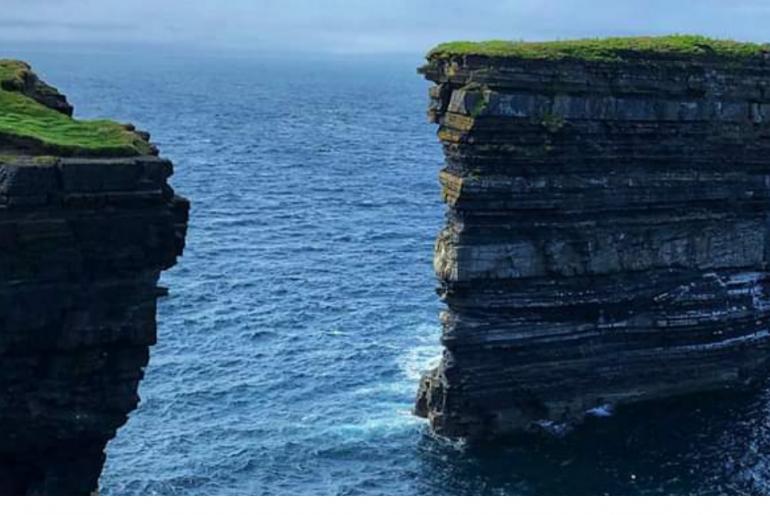 Downpatrick Head, Ballycastle, County Mayo, Ireland