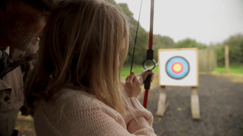 Archery at Mount Falcon Estate Ballina, County Mayo, Ireland