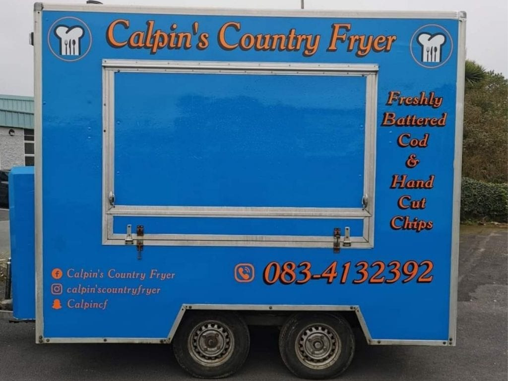 Caplin's country fryer  Coffee carts and food trucks in North Mayo