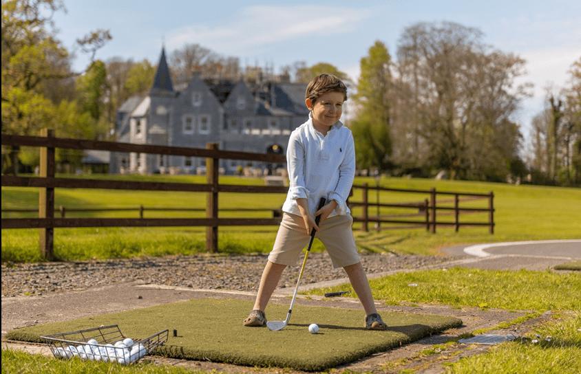 Golf Driving Range at Mount Falcon Estate Ballina, County Mayo, Ireland