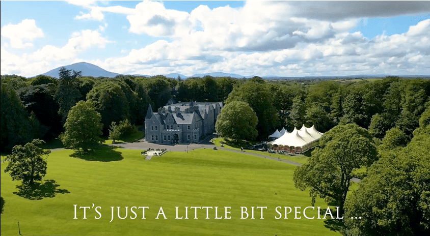 It's just a little bit special...Mount Falcon Estate Ballina, County Mayo, Ireland