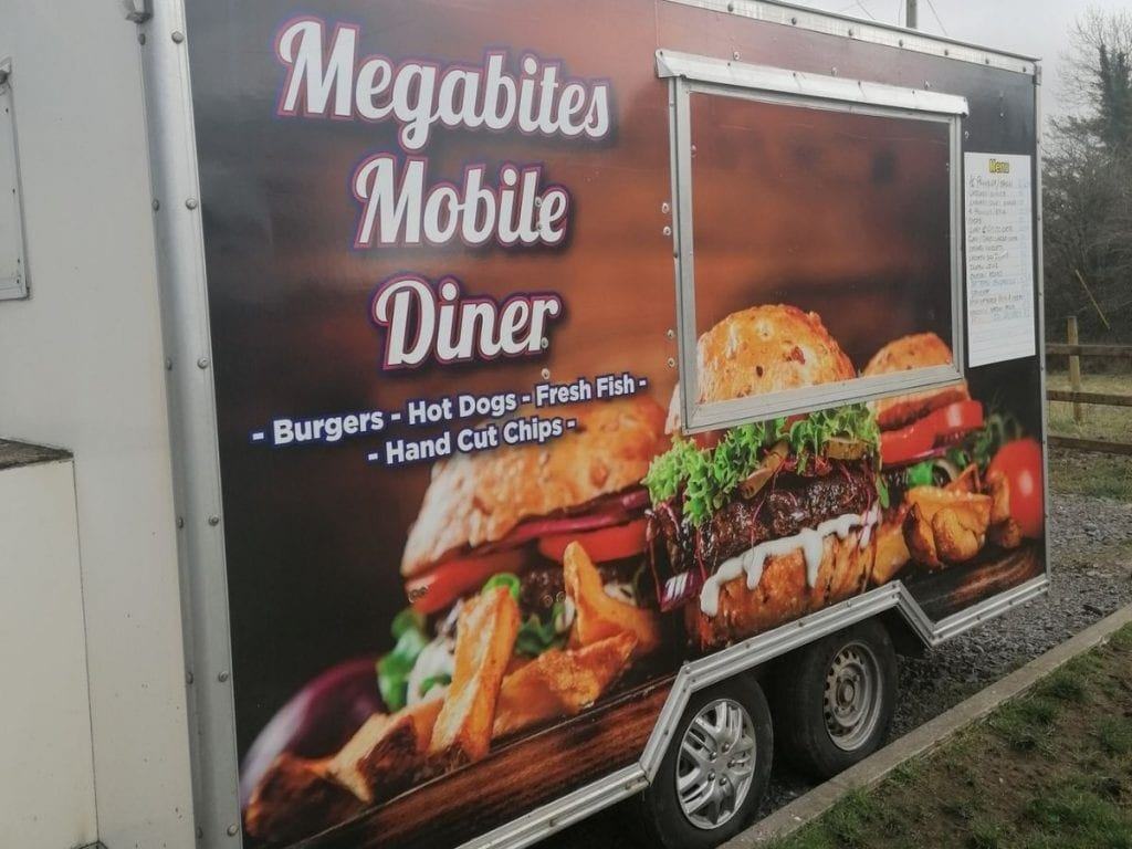 Megabites mobile diner  coffee carts and food trucks in North Mayo