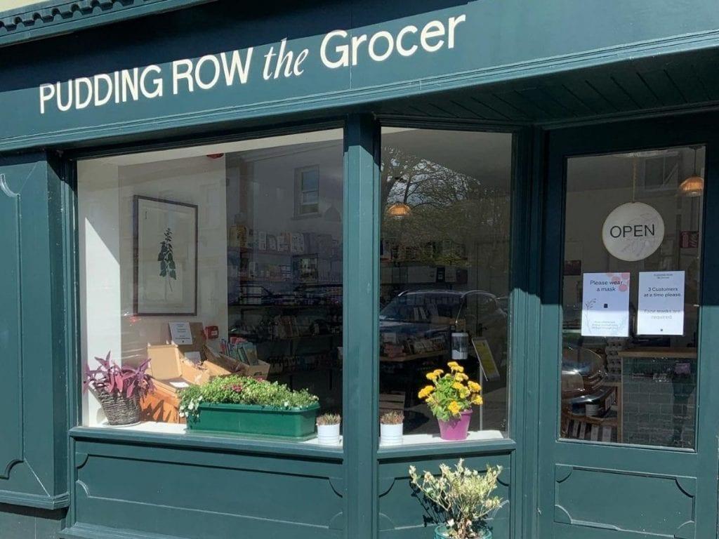 Pudding Row the Grocer in Easkey County Sligo