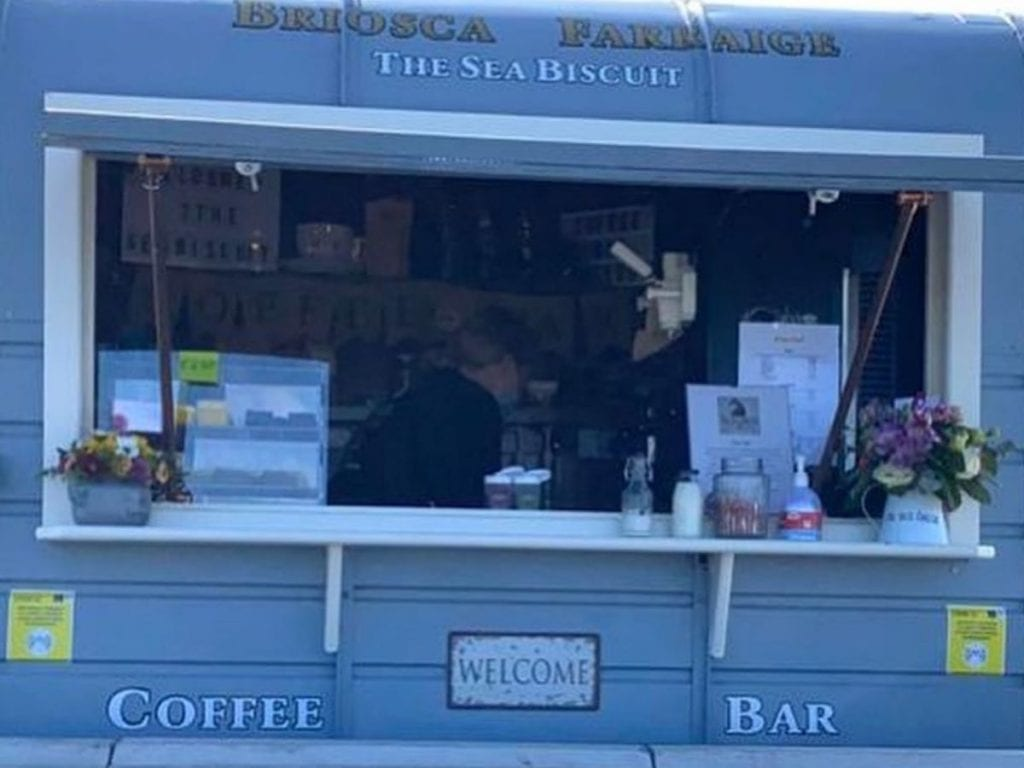 Sea Biscuit Coffee Bar  Coffee carts and food trucks in North Mayo