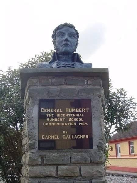 General Humbert Memorial in Killala, County Mayo Ireland