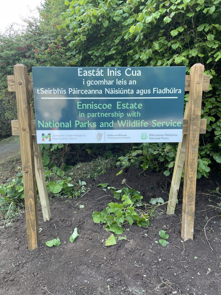 Enniscoe Estate in partnership with the National Parks and Wildlife Services