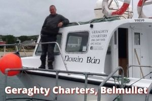 Geraghty Charters boat trips belmullet co. Mayo