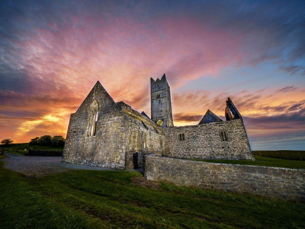 Rosserk Abbey, Killala, Ballina, Co. Mayo. Monasteries of the Moy Greenway