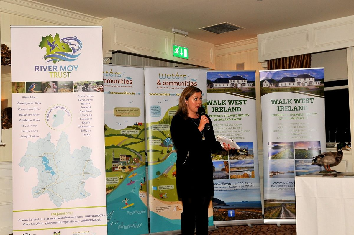 Host at River Moy Trust Expo event - Angelina Nugent