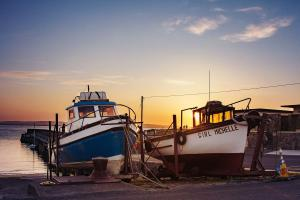 Enniscrone Pier and Boats