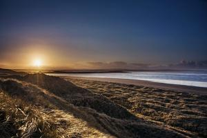Sanddunes at Sunset, Enniscrone