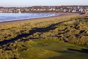 Enniscrone Beach and Golf Course